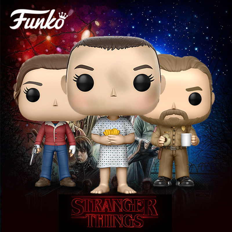 Funko Pop Official TV: STRANGER Things - Eleven Hospital Gown Vinyl Action Figure Collectible Model Toy With Original Box