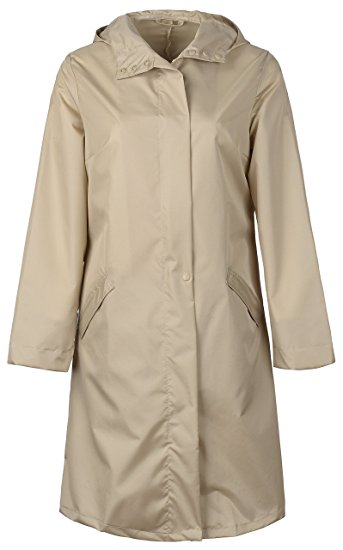 Плащ Для женщин Водонепроницаемый тонкий длинный плащ пальто Tour Дождевик  куртка пончо Капа де Chuva chubasqueros Impermeables Mujer 198eb82f49c