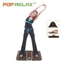 POP RELAX MEJOR NUGA turmalina germanio NM55 arco del pie colchoneta de masaje de acupuntura segundo corazón calefacción eléctrica masajeador de pies F01B