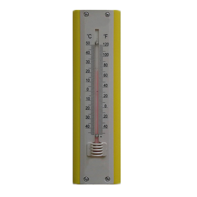 Wall Mounted Thermometer Indoor Room Temperature Meter Tester High  Precision For Baby Home Greenhouse Drugstore Family