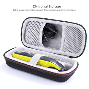 Image 2 - Hard EVA  Protective Carrying Storage Case for Philips OneBlade Trimmer Shaver QP2520/70 QP2520/90 Extra Space Portable Box Case