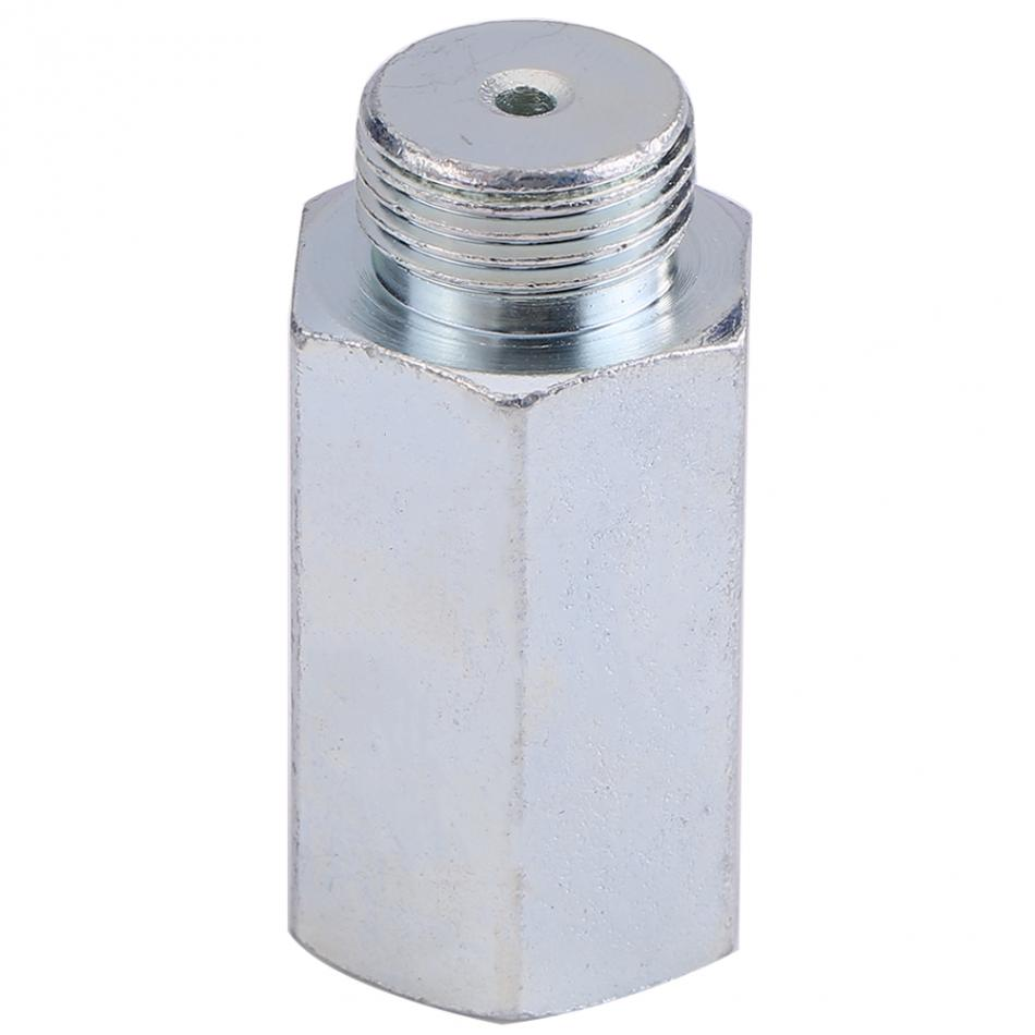 Stainless Steel Lambda O2 Oxygen Sensor Extender Spacer for Decat Hydrogen M18x1.5 Lambda O2 Extender Spacer