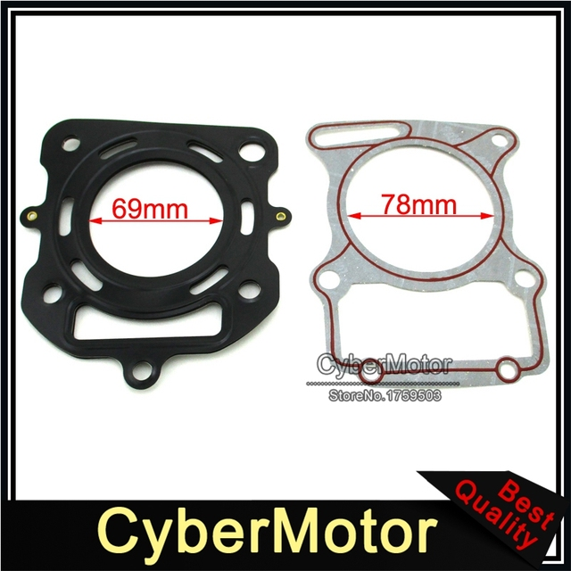 US $7 95 5% OFF|Zongshen CG250 250cc Water Cooled Engine Cylinder Head  Gasket For Pit Dirt Bike ATV Quad 4 Wheeler-in Pistons & Rings from  Automobiles