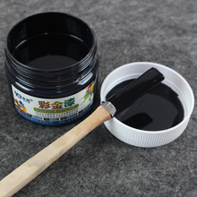BlackWater-based Paint ,Metallic lacquer , wood varnish, Furniture Color change, wall,door,crafts, Painting,100g per bottle