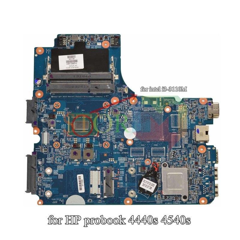 NOKOTION per HP probook 4540 s 4440 s madre del computer portatile 712921-601 i3-3110M HM76 DDR3NOKOTION per HP probook 4540 s 4440 s madre del computer portatile 712921-601 i3-3110M HM76 DDR3