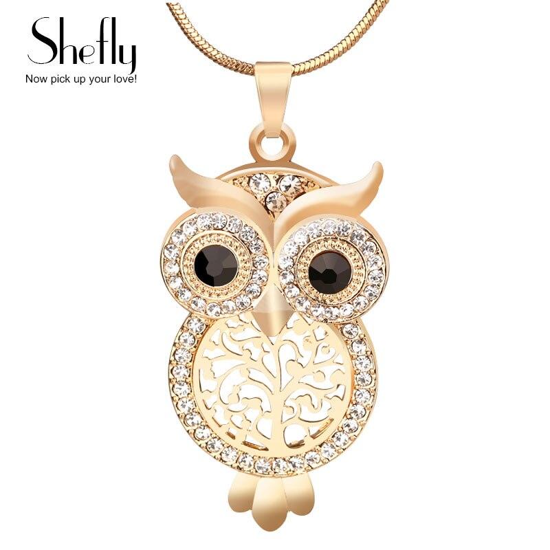 2017 Hot Sale Vintage Jewelry Owl Gear Ps