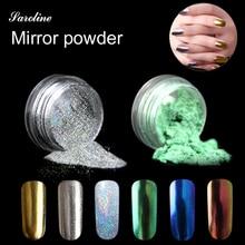 silver gold Mirror Powder Gold Silver Pigment Nail Glitter Nail Art Chrome holographic glitter Pigment Nail Acrylic Powder