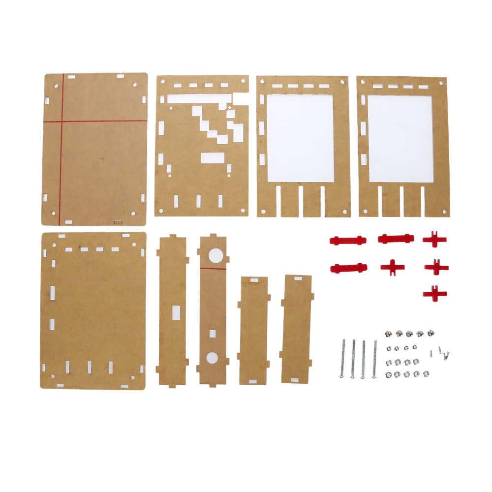 جودة و جديد وصول الاكريليك DIY حالة غطاء قذيفة DIY غطاء ل DSO138 راسم التبعي