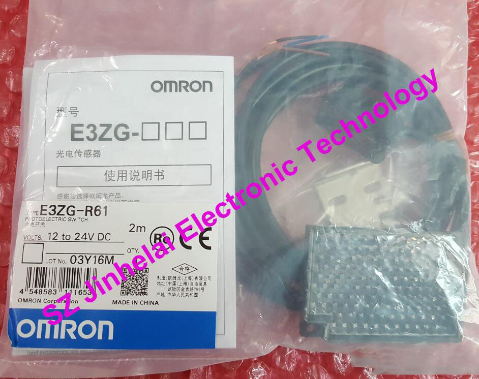 E3ZG-R61  New and original ORMON  Photoelectric switch 2M 100% new and original e3c lda11 ormon photoelectric switch 12 24vdc 2m