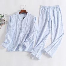 d32681a8fd Polka Dot Full Sleeve Women s Pajama Sets Long Trouser Loose Casual Pockets  Womans Sleepwear Autumn Winter