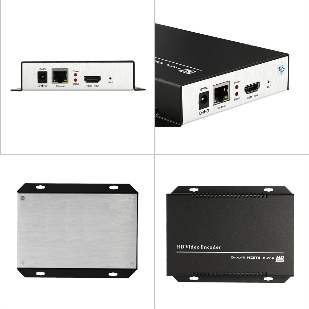 H.264 IPTV Encoder HDMI Video Encoder HDMI Encoder, Live Stream - სახლის აუდიო და ვიდეო - ფოტო 2