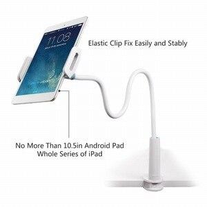 Image 3 - Support de tablette pour téléphone portable Portefeuille support paresseux col de cygne 360 bras Long pour iPhone iPad mini air 2 Nintendo support de montage pour commutateur