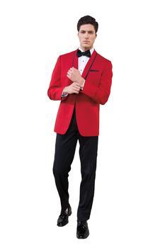 Trajes de mano hechos a medida esmoquin rojo para ropa formal de boda 2020 esmoquin de novio