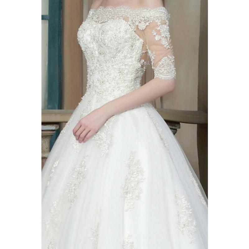 Aliexpress.com : Buy Lace Wedding Dress 2015 Elegant Wedding Gowns ...