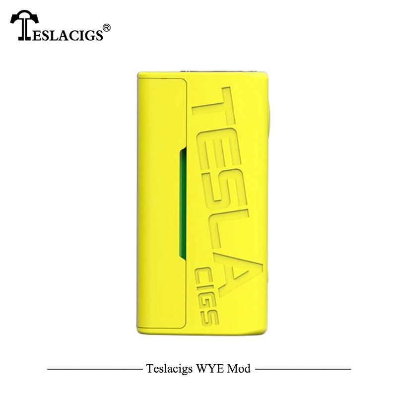 Plus léger Électronique Cigarettes Mod Teslacigs Tesla WYE 85 W Mod Teslacigs WYE 85 W boîte de contrôle de température Mod 510 Fil Vaporisateur - 4