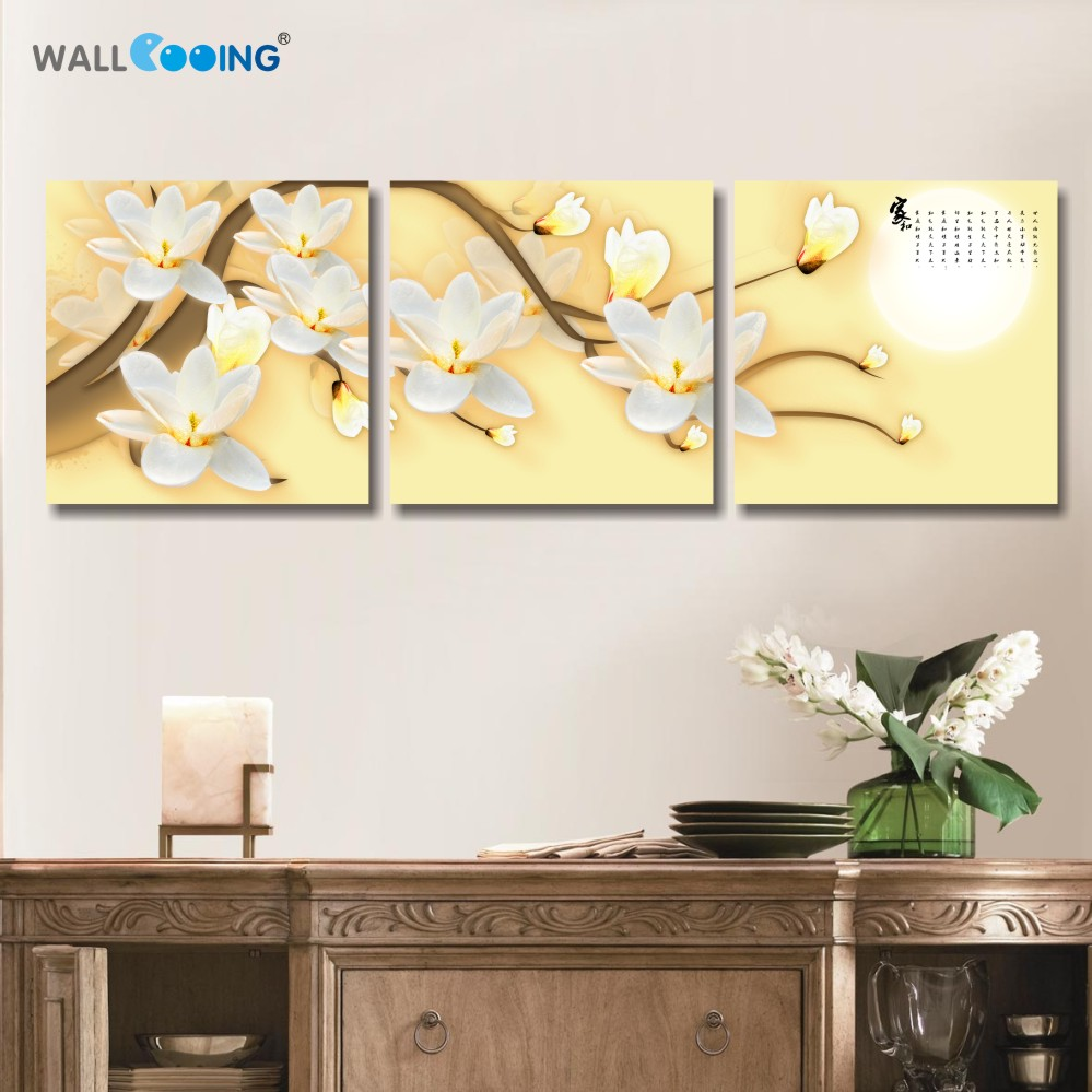 paint of Art orchids poster Decoration Wall Art Oil Painting Canvas ...