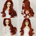 Sw detachable . high temperature wire bjd . sd doll vintage wig, BJD curl wig