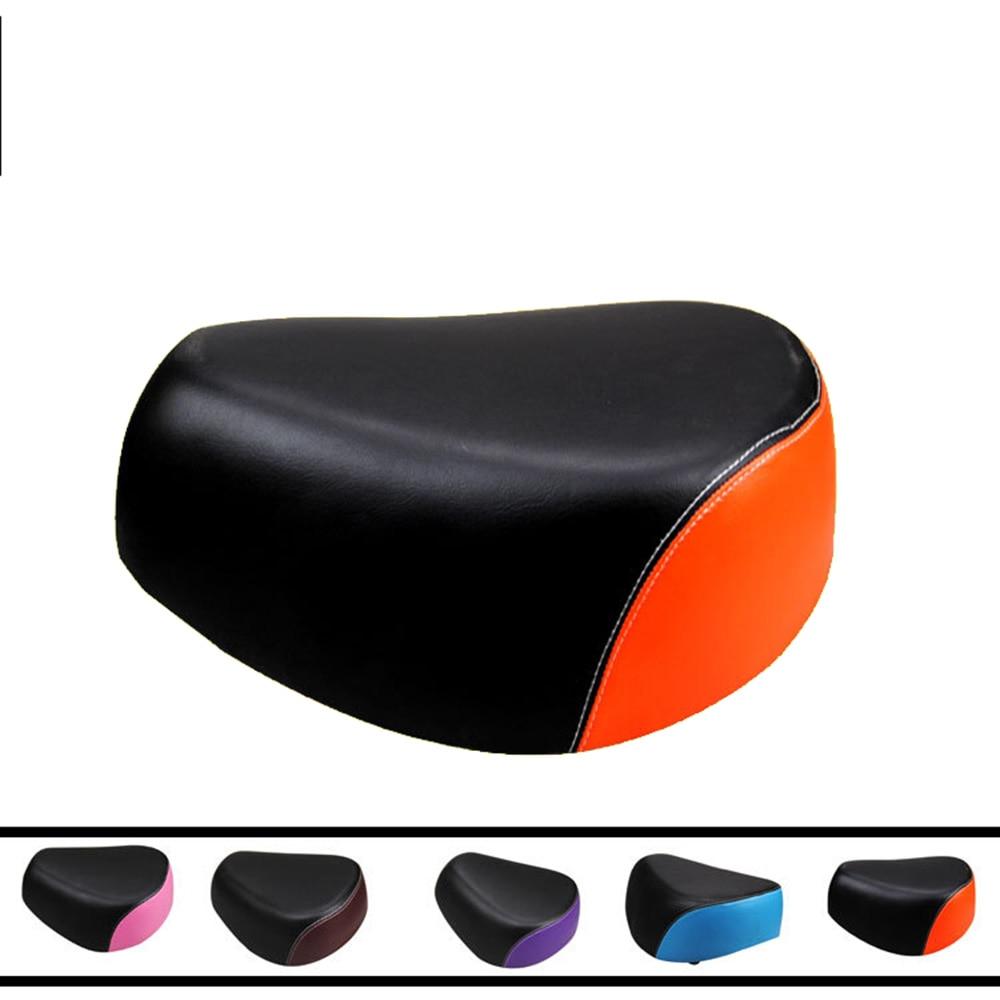 Electric car cushion Cushion Ride Bicycle Accessories Bicycle Saddle Wide MTB Saddle Cushion Road Bike <font><b>Seat</b></font> Shock Resistant Bike