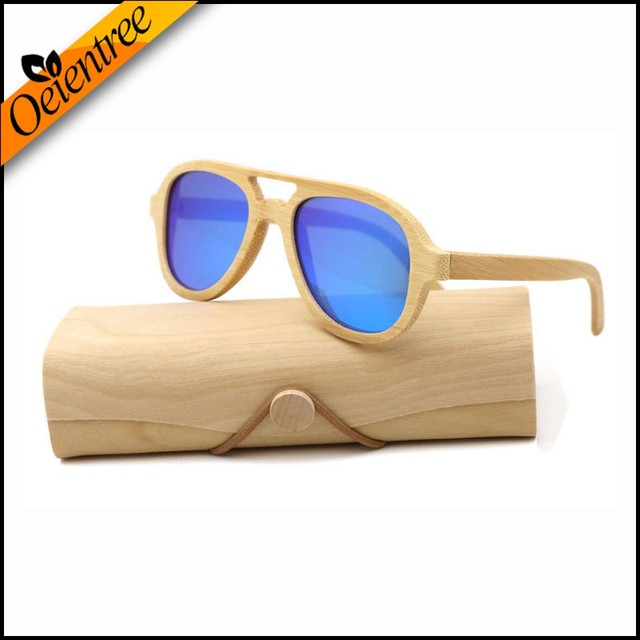 0f9eab972b Factory outlet Real Wood Sunglasses Polarized Wooden Glasses UV400 Bamboo  Sunglasses Brand Wooden Sun Glasses With