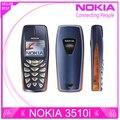 Reformado Nokia 3510 3510i barato del regalo del teléfono 2 G GSM dual band teléfono móvil clásico ruso del teclado envío gratis