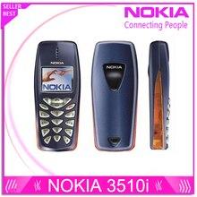 Восстановленное Nokia 3510 3510i дешевый подарок телефон 2 г GSM Двухдиапазонная классический мобильный телефон русская клавиатура Бесплатная доставка