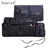 Rosalind New 2015 Professional 32 Pcs Set Makeup Brushes Professional Cosmetic Makeup Set Free Shipping