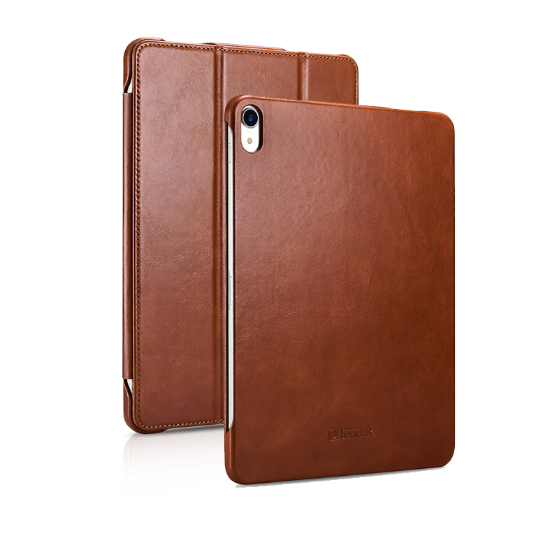 Magnetic Smart Case for iPad Pro 11 2018 Genuine Leather Slim Auto Wake Sleep Stand Cover Case for iPad Pro 11 inch 2018