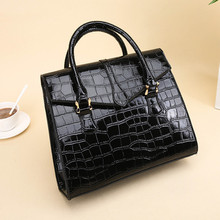 Womens Bag Classic Crocodile Pattern Handbag For Women PU Leather Hand Ladies Shoulder Bags  NI002