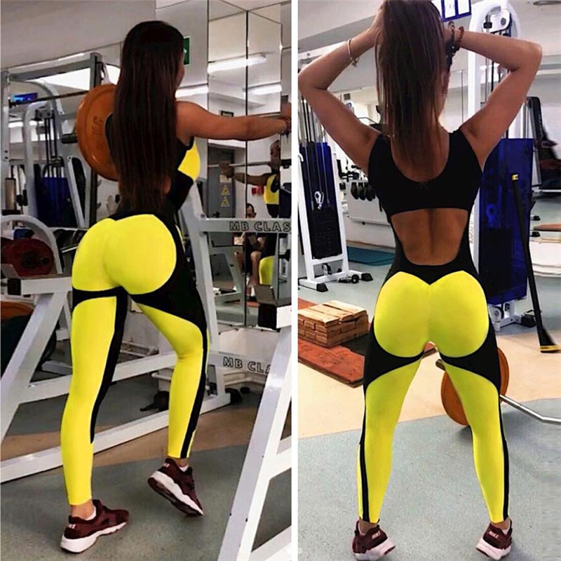 Women Sexy Fitness Yoga Jumpsuit Product Picture