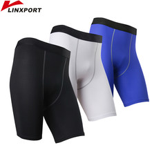754028dae De los hombres pantalones cortos de gimnasio rápido seco ropa interior  Fitness corriendo boxeadores de compresión cortos fútbol .