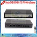 Dinstar DAG1000-4S4O FXS/FXO Смешанных Аналоговых Гибридных VoIP Шлюз