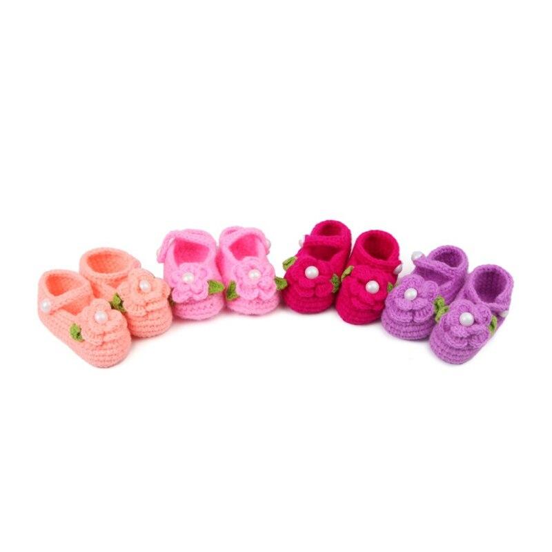Sepatu Balita Bayi Bawah Lembut Laki-laki dan Perempuan Buatan Tangan