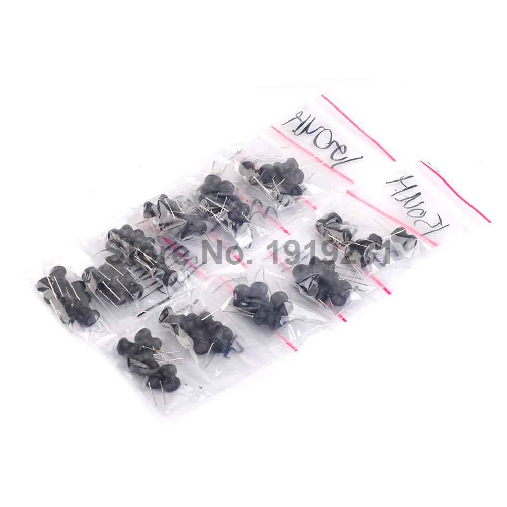 55pcs=11values*5 inductance Power inductor 100UH 10MH 150UH 1MH 2.2M 220UH 330UH 470UH 47UH 560UH 10UH size:8*10mm