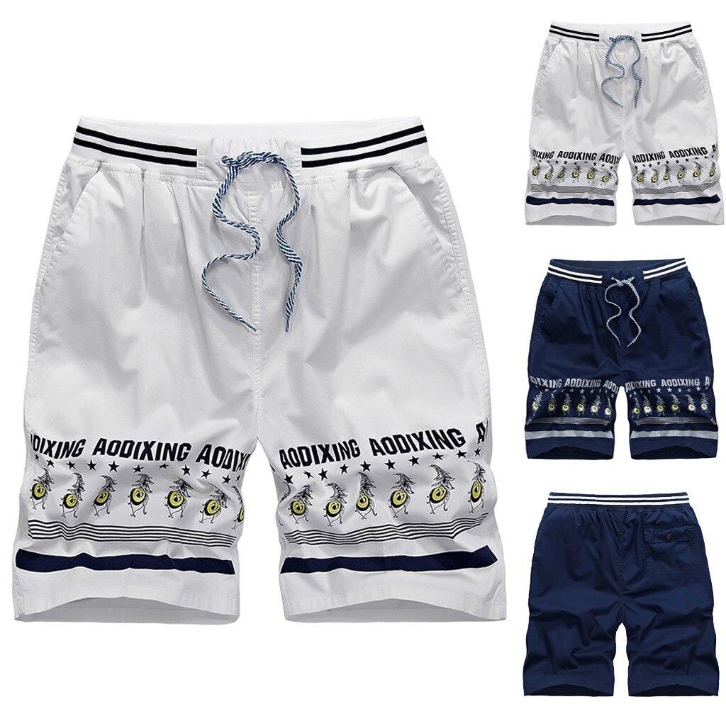 2019 NEW Men's shorts swimming trunks Hawaii quick-drying beach surf running swimming shorts swimwear men's sports shorts 7.12(China)