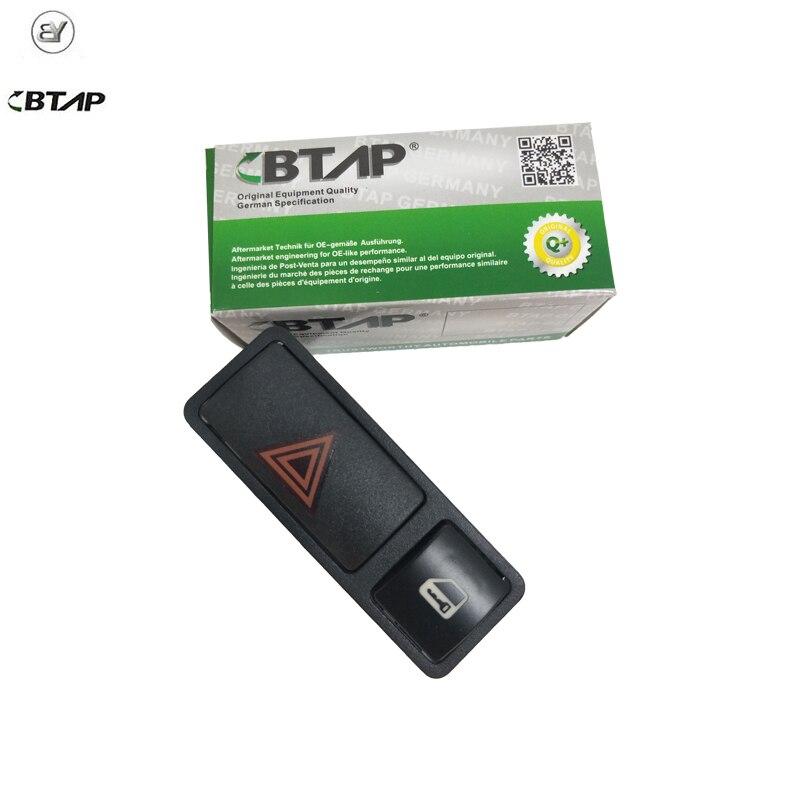 Aramox Hazard Warning Switch Hazard Warning Door Central Lock Locking Switch for BMW 3 Series E46 E53 E85 325 X5 61318368920