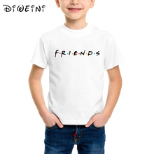 Friends Letter t shirt boy tshirt Casual Funny For baby boys Top Tee Kids T-Shirts NYC Skyline T-Shirt