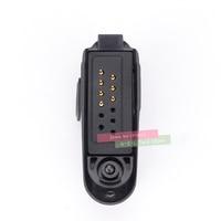 עבור baofeng עבור מתאם אודיו Talkie Walkie Baofeng BF-9700 UV-XR UV-5S UV5R-WP BF-R6 GT-3WP T-57 UV-9R עבור M ממשק 2Pin אוזניות נמל (4)