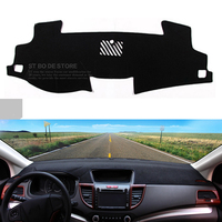 Car Dashboard Avoid Light Pad Instrument Platform Desk Cover Mats Carpets Auto Accessories For Toyota Camry
