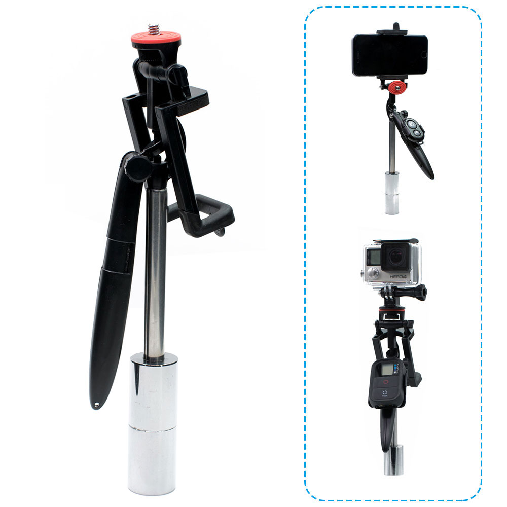 Multifunction Handheld Video Shooting Stabilizer Steadycam For Gopro Hero 7 6 5 4 Hero 3+ for Xiaomi Yi SJCAM Smartphone Camera shoot aluminum alloy handheld stabilizer for gopro hero 7 6 5 black xiaomi yi 4k lite sjcam sj7 eken h9 go pro hero 6 accessory