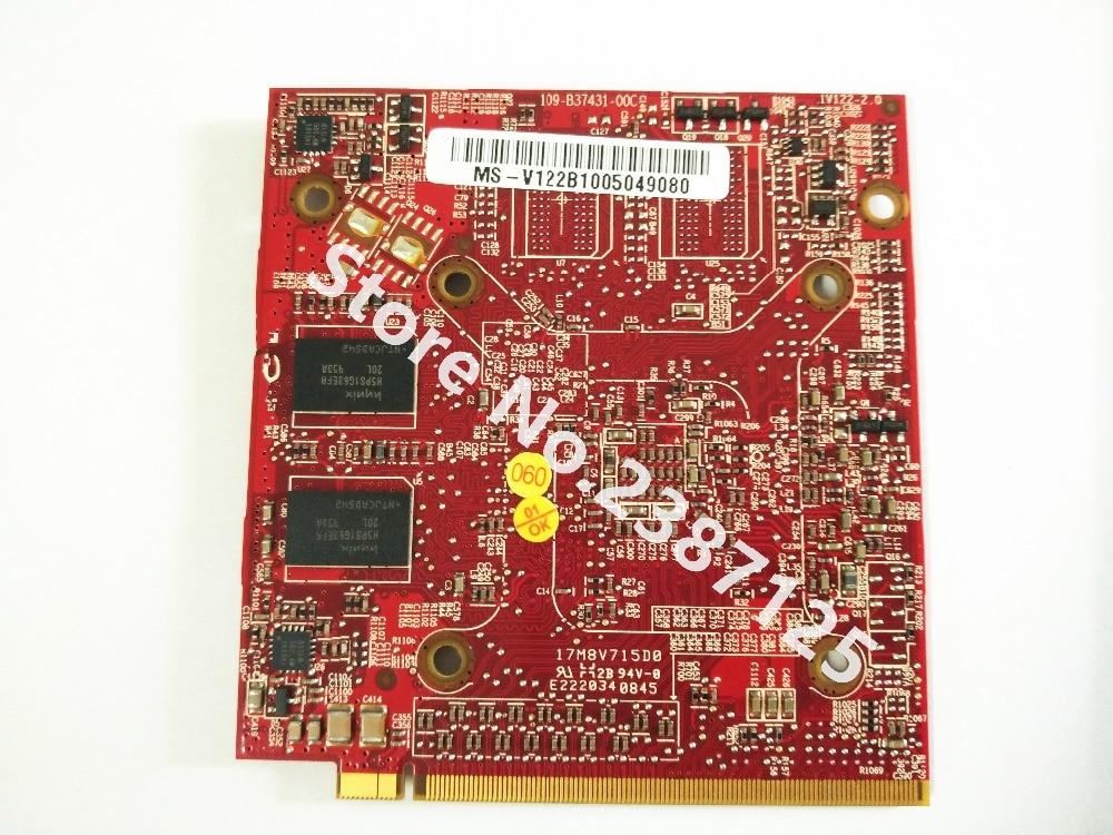 Pour ATI Mobility Radeon HD3470 HD 3470 512 MB Vidéo Graphique carte pour Acer Aspire 4920G 5530G 5720G 6530G 5630G 5920g 32775493780