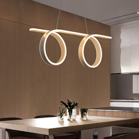 Новый современный светодиодный Блеск подвесные светильники для гостиной столовой бар кухня подвесной светильник Hanglamp Lampen