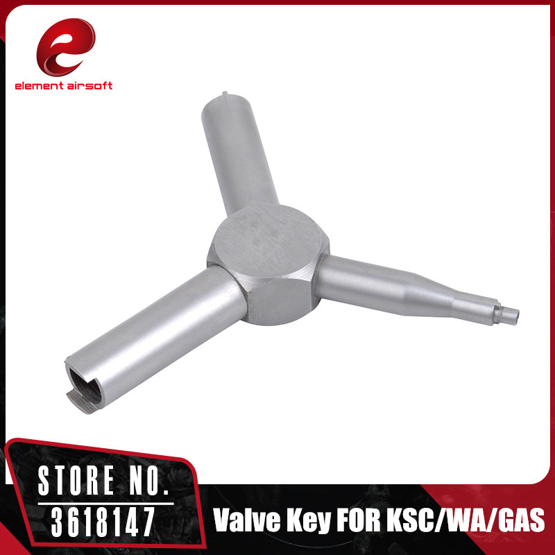 Element Airsoft Valve Key for Airsoft KSC WA GAS Magazine Charging Valve Removal