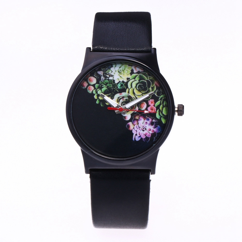 New Arrive Dress Clock Female Ladies Watch Analog Leather Band Quartz Wrist Watches Women Relogio Feminino #A3