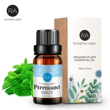 100% Peppermint Pure Essential Oil 10ml Deep Clean Pores and Black Head Cleansing Skin Relieve Tired