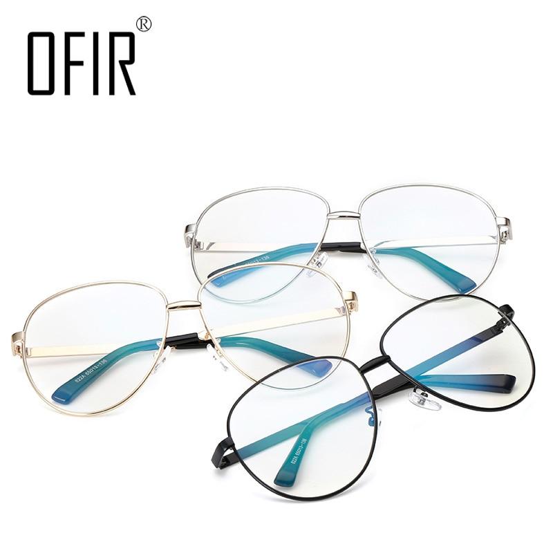 9f2d4c9775839 OFIR Women Optical Eye Frame Glasses Brand Myopia Eyeglasses Computer Myopic  Frame Glasses Men Vintage Oculos de grau SL 108-in Eyewear Frames from  Apparel ...