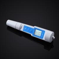 Waterproof PH Pen Meter Portable Digital PH Tester for Aquarium Pool Water Wine Urine Laboratory GHS99