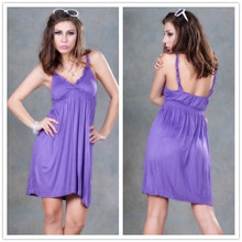 Free Drop Shipping High quality purple sexy sleeveless kaftan women robe de plage beach wear Cubrir Cobrir dress