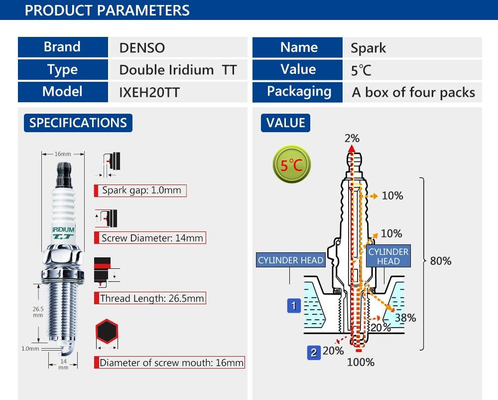 4pieces Set Denso Car Spark Plug For Nissanteana 20l 25l Renault Lexus Ct200h Wiring Diagram 2013 Mercedes Benz Sl63amg 2016 2012 Slk350 2011 Slk55amg