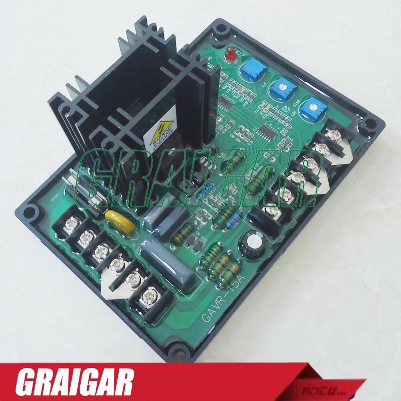 GAVR-15A voltage regulator SensingInput Voltage 220/400VAC,1phase 2wire Output Voltage input