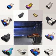 Per toyota EZ Verso 2012 2013 2014 2015 2016-2018 auto silenziatore esterno end tubo di scarico dedicare in acciaio inox di scarico punta della coda
